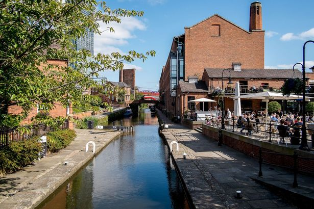 Review of Castlefield for a date in Manchester