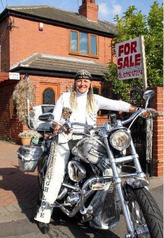 Sue O Grady - motorcycle road trip around the world