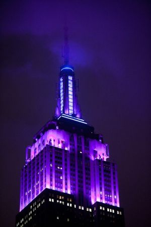 domestic violence empire state building