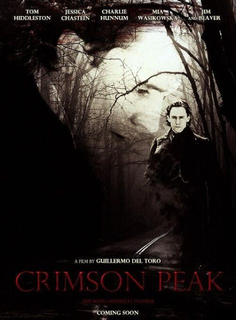 crimson peak fan poster